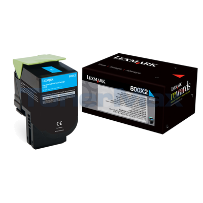 LEXMARK CX510 TONER CARTRIDGE CYAN 4K
